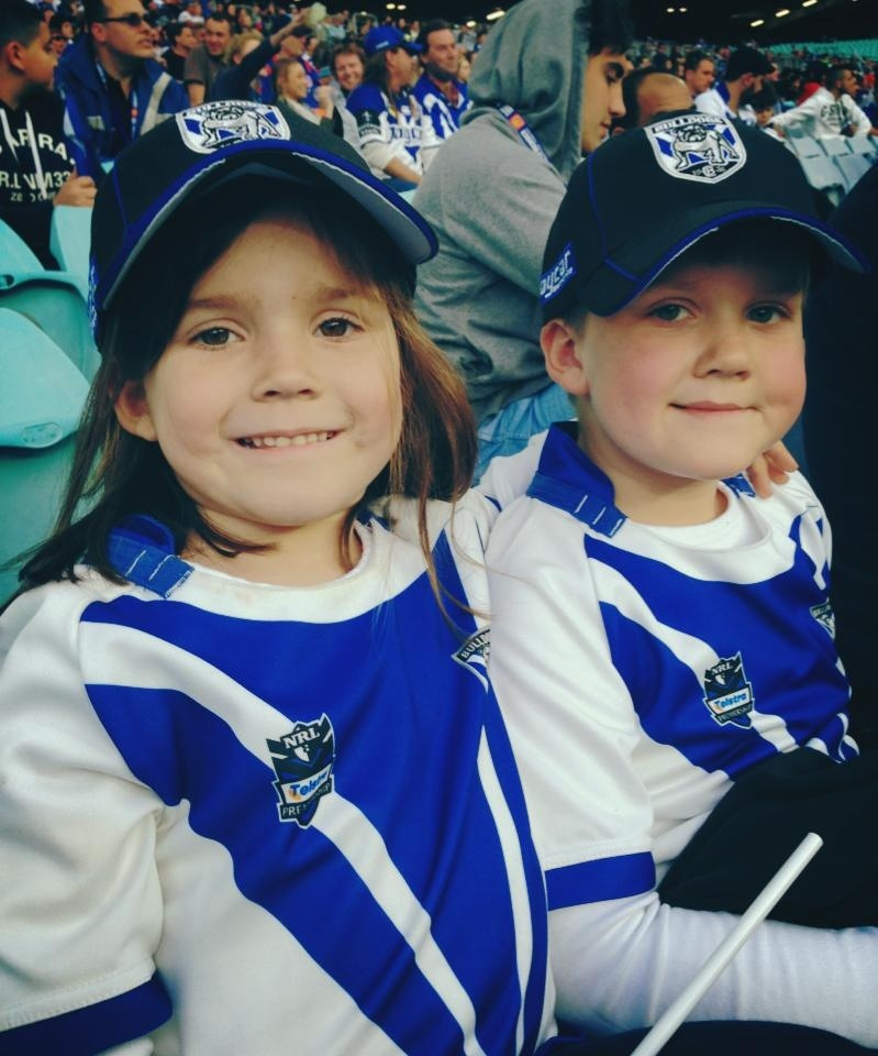 A Trip to the Rugby League to watch the Bulldogs win