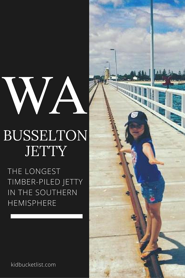 41. Walk the Longest Timber-Piled Jetty in the Southern Hemisphere: Busselton Jetty