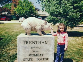 A Lazy Weekend in Trentham : In the Land of the Wombat