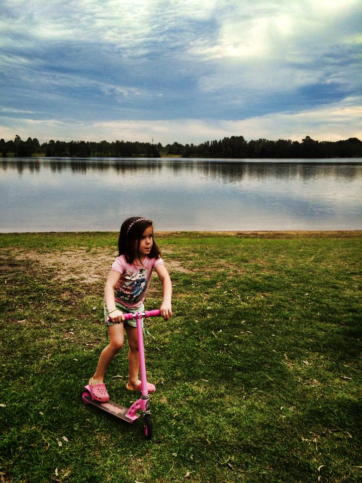 Garrison Point : Learning To Ride a Bike + Playground Fun