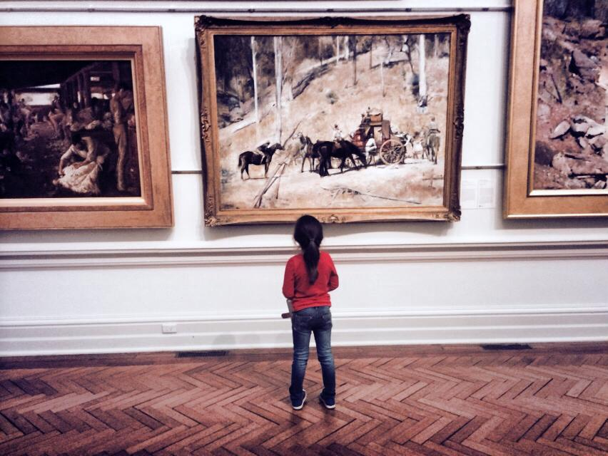 Framed History and Perspective : A Trip To The Art Gallery of NSW