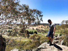 Picnic at Hanging Rocks: Climbing a Mamelon As We Travel Central Victoria With Kids
