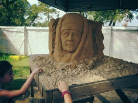 A Day at Sydney Hills International Sand Sculpting Exhibition