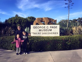 A Sticky Trek Back in Time : A Visit to the La Brea Tar Pits and Page Museum