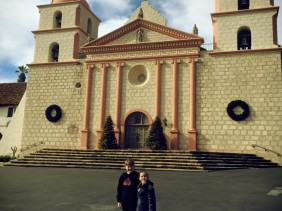 Old Santa Barbara Mission : Discovering California's Spanish Roots