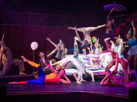 Flying Fruit Fly Circus : Circus Under My Bed - Ordinary Kids Doing Extraordinary Things