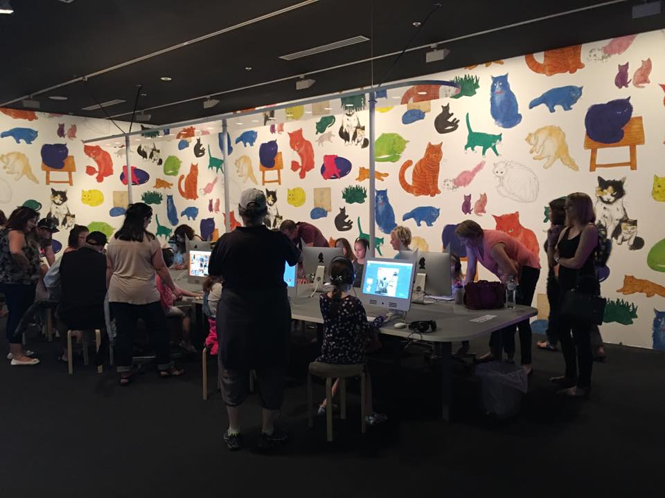 Studio Cats at the National Gallery of Victoria : Introducing Andy Warhol and Ai Weiwei to Kids