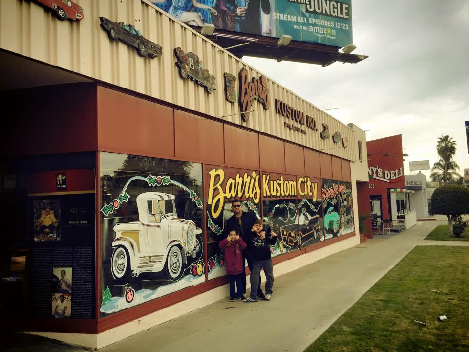 5 Car Garages to Visit in Los Angeles : The Dad's California Bucket List