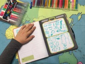 GIVEAWAY : Lonely Planet Kids Never Forget an Adventure - Journal and Map Review