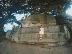 Mrs Macquarie's Chair : A Sydney Landmark in the Domain
