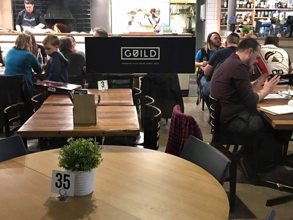 Guild : Canberra's Pizza and Board Games Restuarant