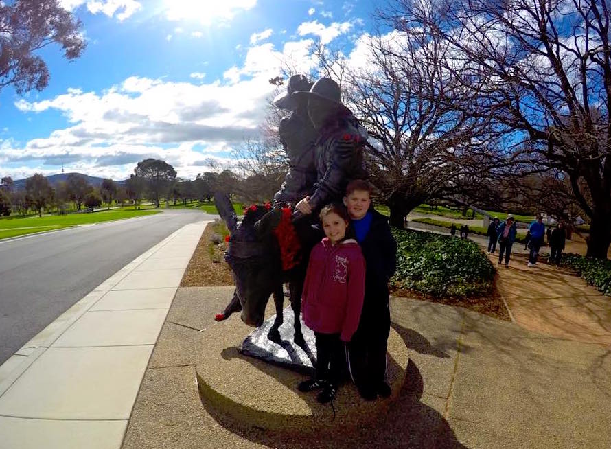 The Australian War Memorial in Canberra : Visiting with Kids