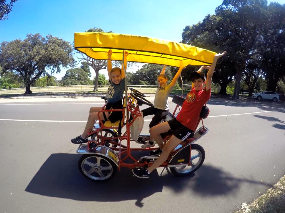 Centennial Park Pedal Cars : A Weekend Ride