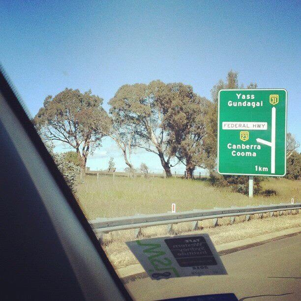 A Sleep Over in Australia's Capital Territory - Canberra