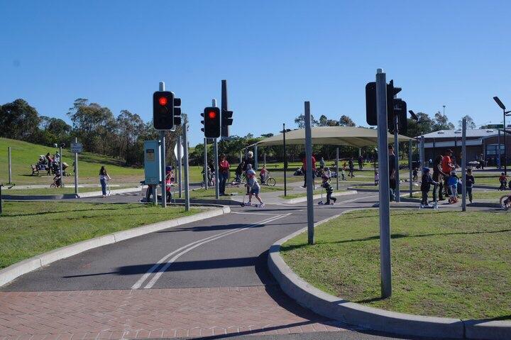 Beyond The Chimney Stacks Sydney Park Playground And Bike Track