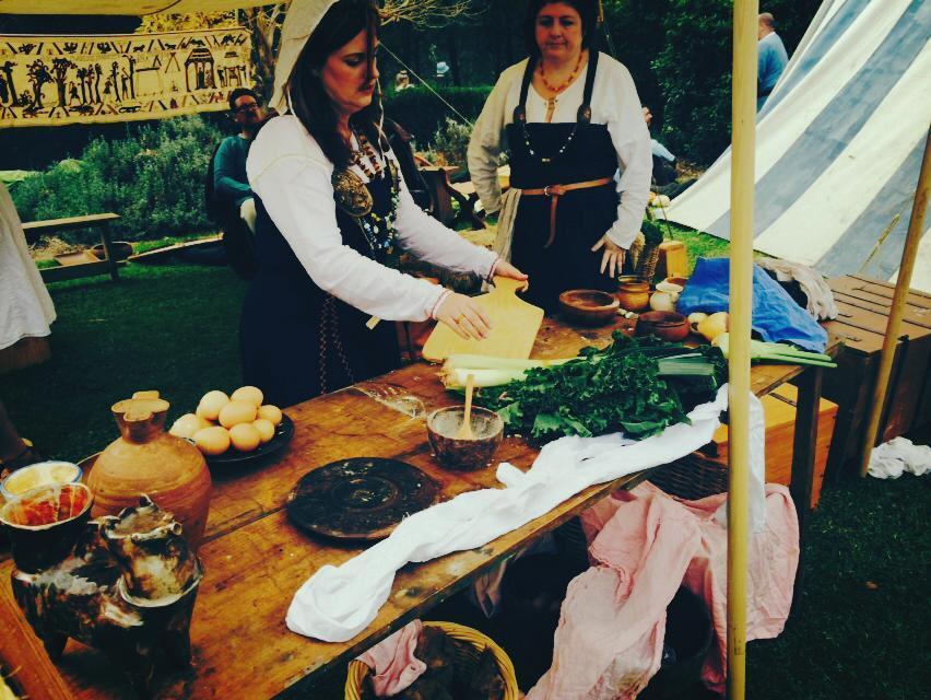 Medeival Kitchen Cooking