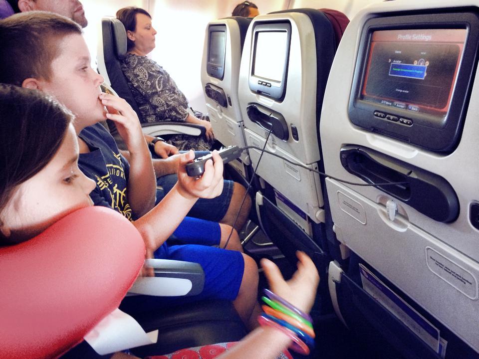 Flying with Kids: Virgin Australia Style - The Kid Bucket List
