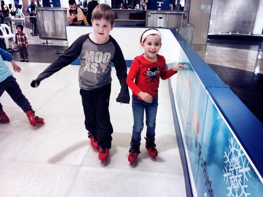 Learning to Ice Skate - A Kid Bucket List Wish Fulfilled