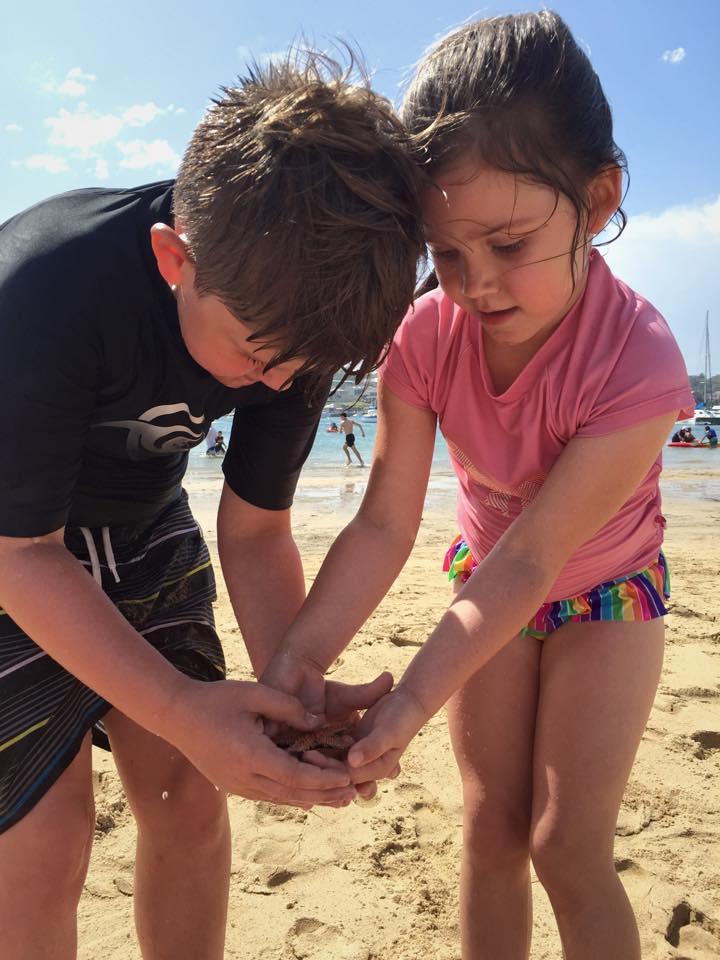 Gunnamatta Park : Beach Fun & A Run In With a Starfish