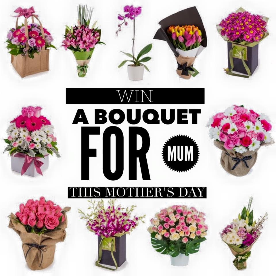 Mother\'s Day Giveaway : Win a Bouquet of Flowers for Mum