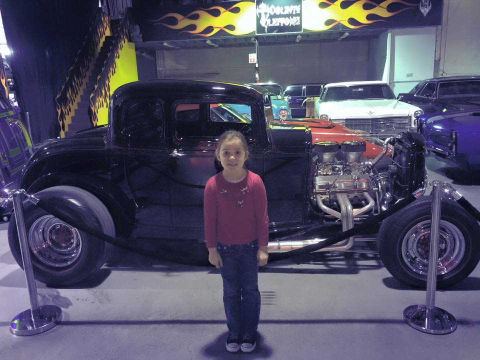 Counts Kustoms Counting Cars With Kids In Las Vegas - The count car show