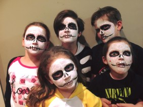 The Book of Life : A Friday Night Mexican Day of the Dead Celebration (albeit a month early!)