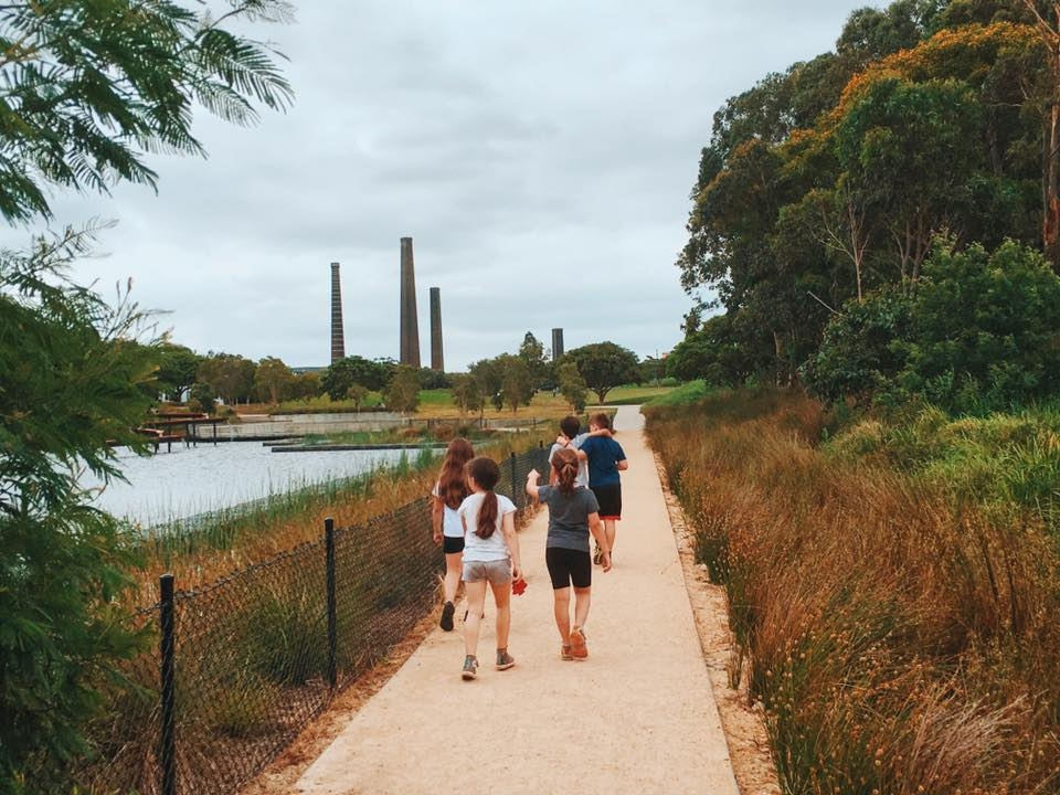 Sydney Park Bike Track Cycle Your Way To Fun Times The Kid