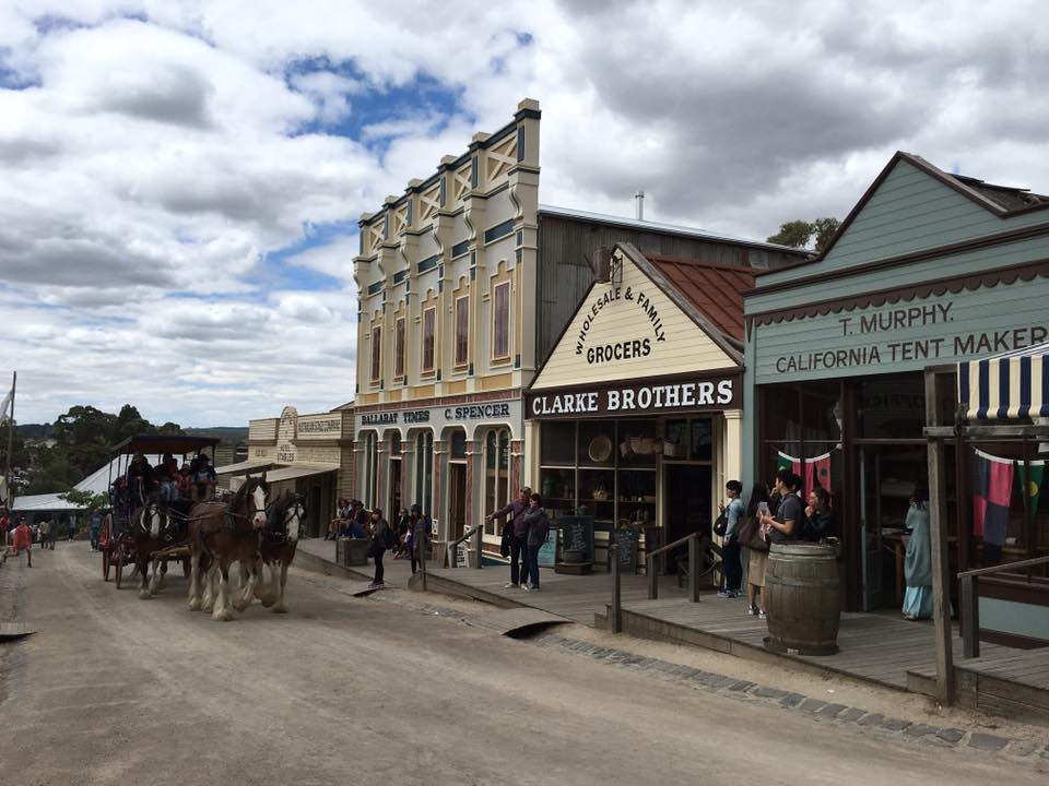 Gold Fever at Sovereign Hill : A Blast into Ballarat's History