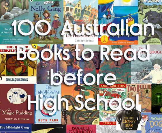 100 Australian Books To Read Before High School - The Kid Bucket List