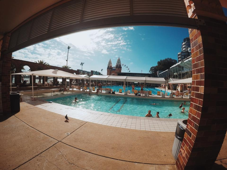 North Sydney Olympic Pool Swimming Under The Sydney Harbour Bridge The Kid Bucket List