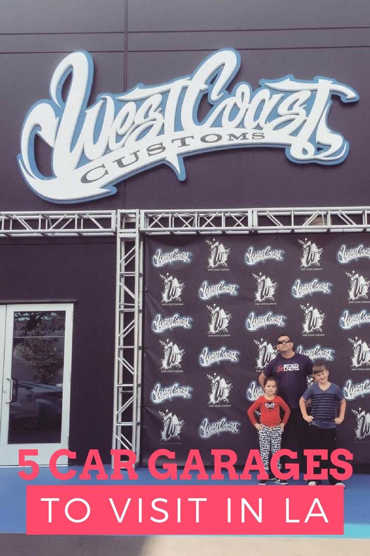 5 Car Garages to Visit in Los Angeles