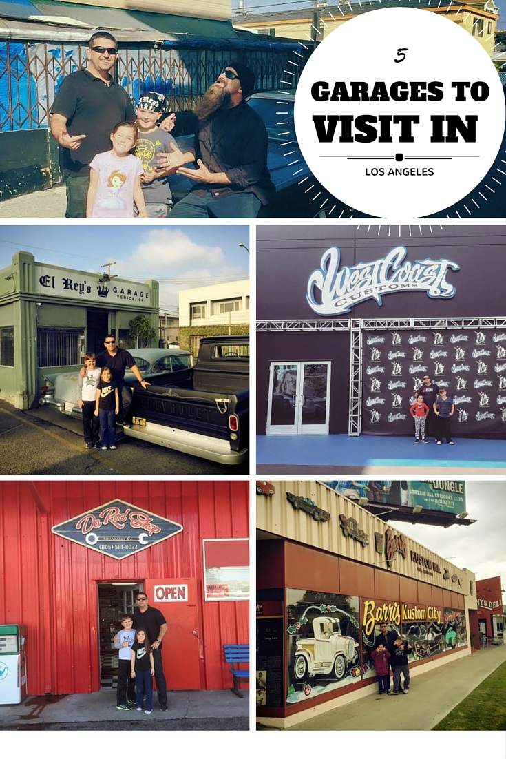 5 Car Garages to Visit in Los Angeles : The Dad's Californian Bucket List