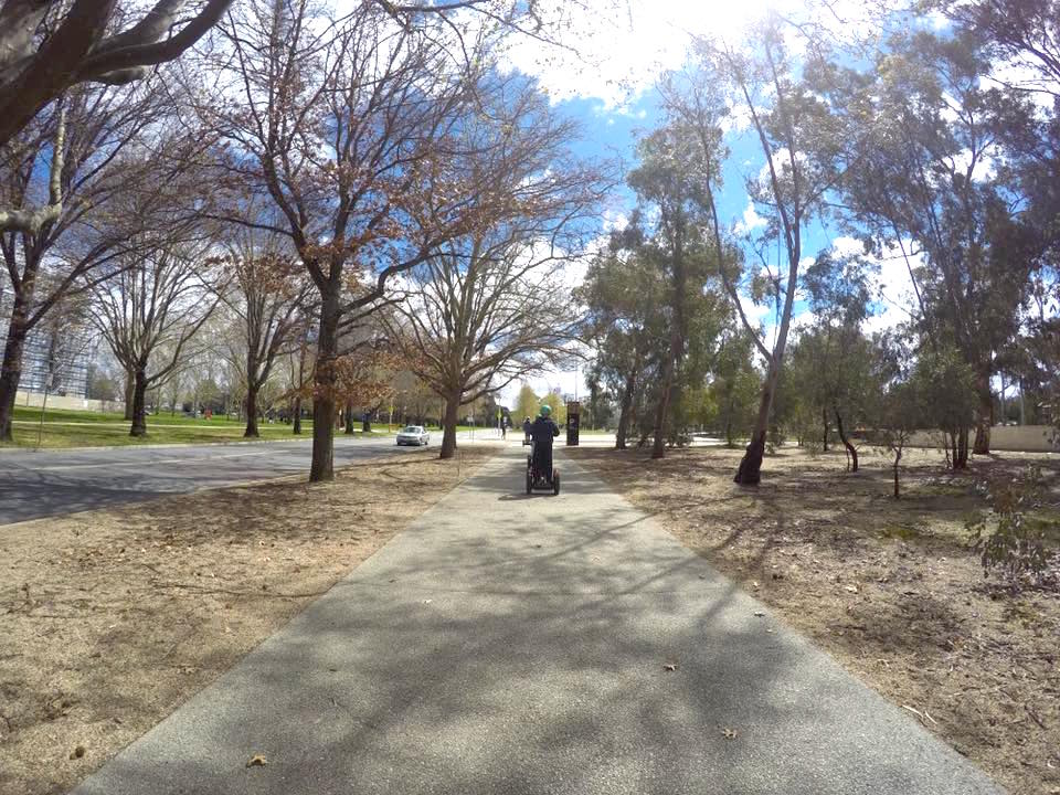Seg Glide Ride : A Canberra Segway Experience With Kids
