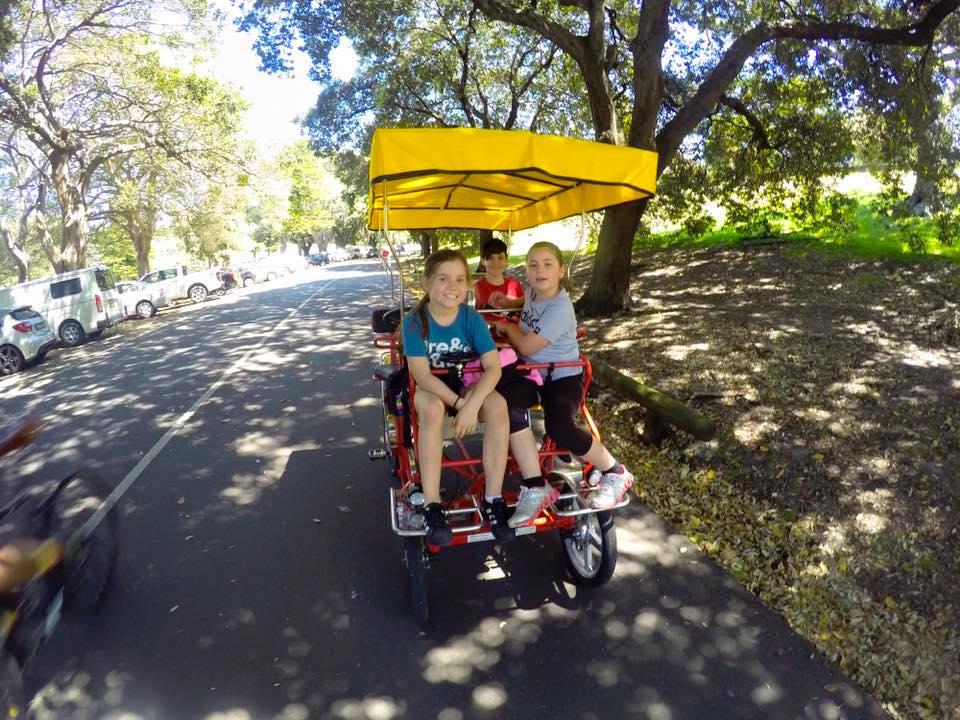 Centennial Park Pedal Cars : A Weekend Ride
