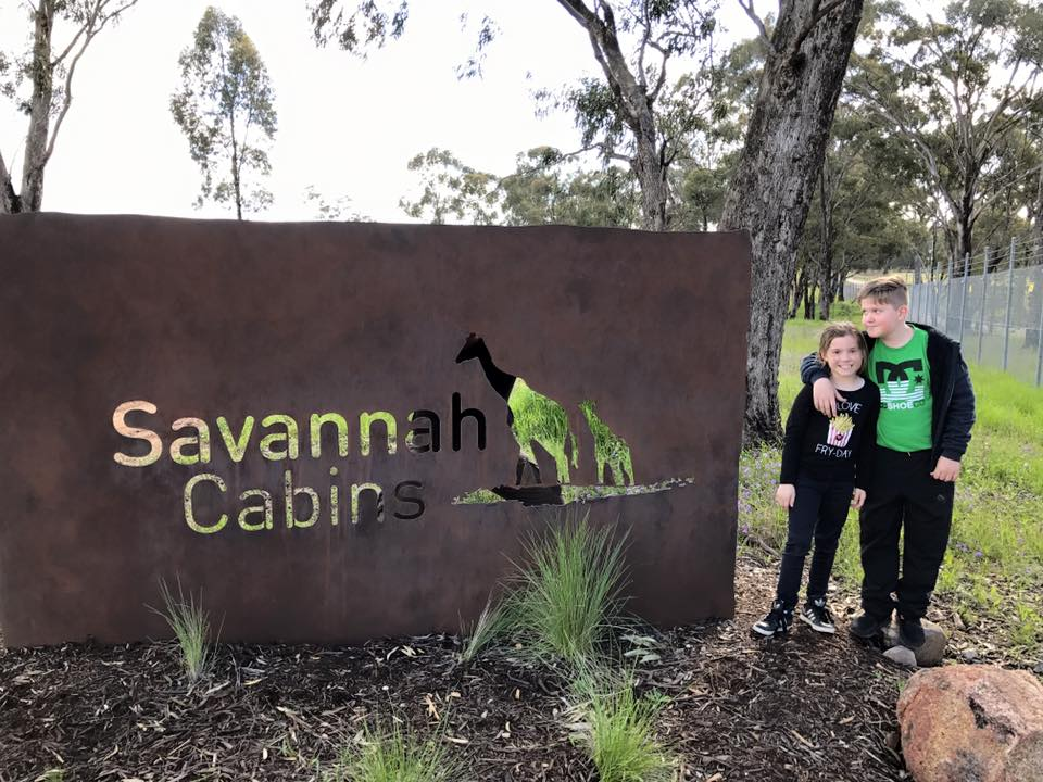 Taronga Western Plains Zoo Dubbo : A Stay at the Savannah Cabins