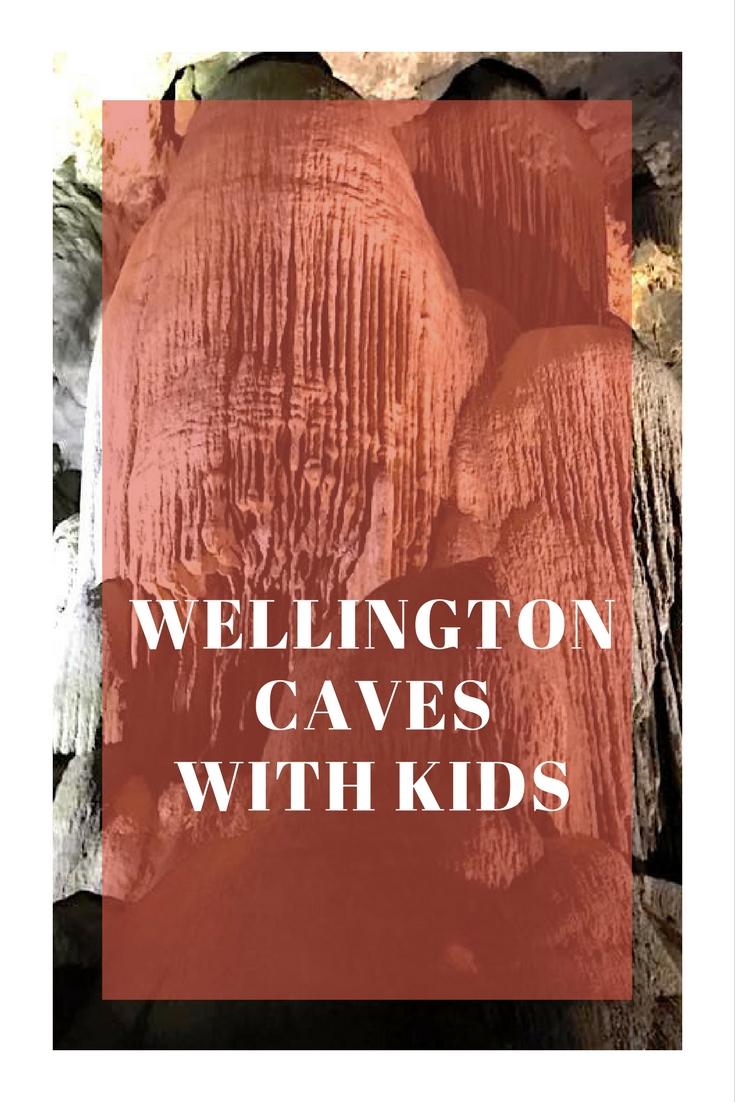 Explore Wellington Caves with kids