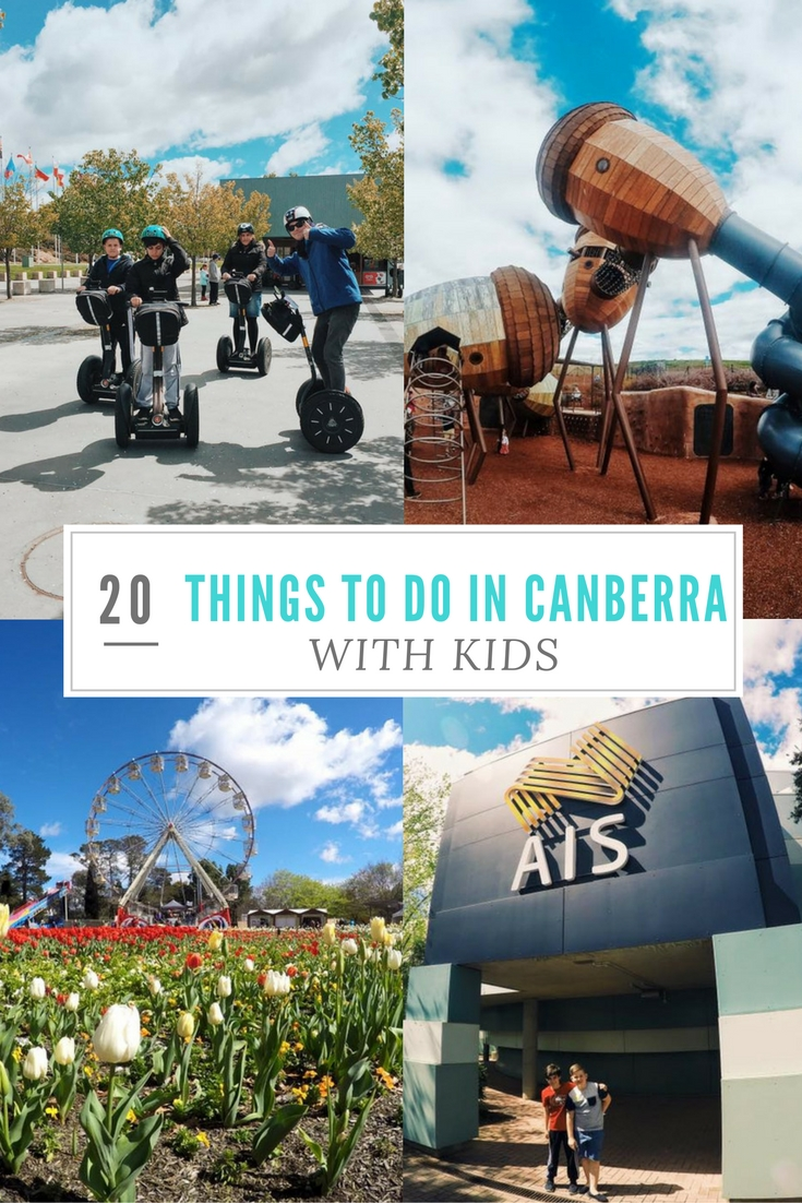 20 Things To Do In Canberra With Kids