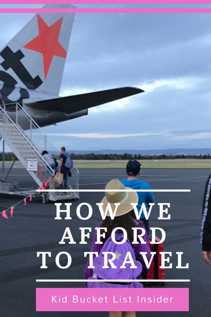 How Do We Afford To Travel?
