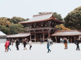 Meiji Jingu Shrine : Visiting a Shinto Shrine with Kids