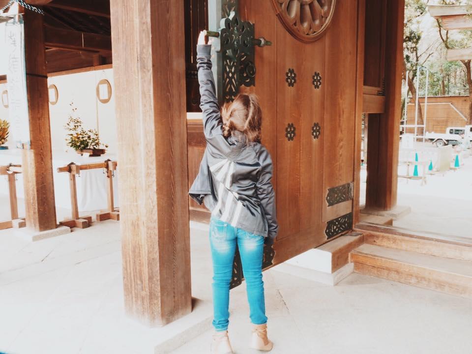 Meiji Jingu Shrine : Visiting a Shinto Shrine with Kids