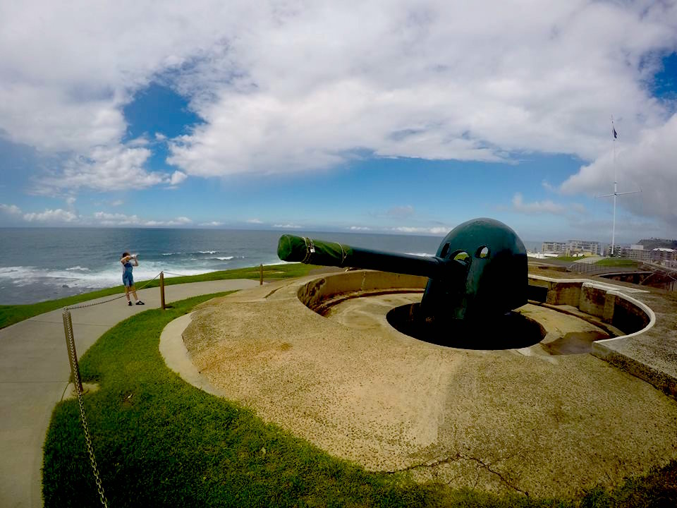 Fort Scratchley with Kids