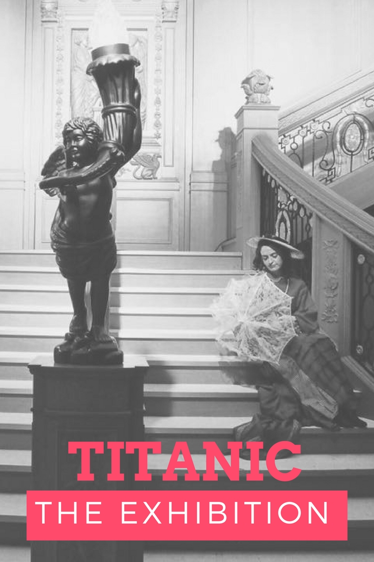 Titanic The Exhibition With Kids