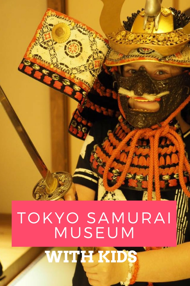 Tokyo Samurai Museum With Kids : Museums to Visit in Japan