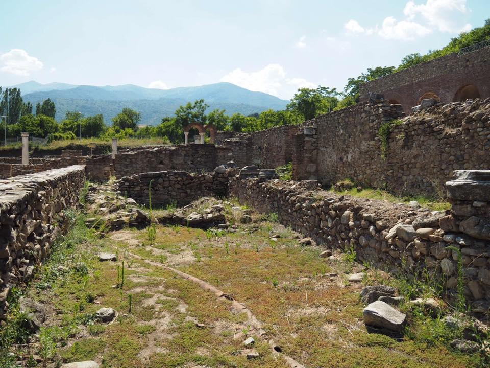 Heraclea Lyncestis with Kids : Bitola Macedonia