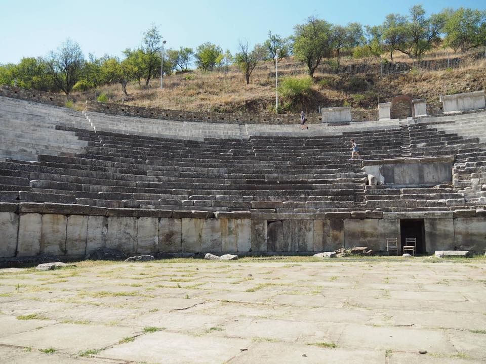 Heraclea Lyncestis with Kids : Bitola Macedonia