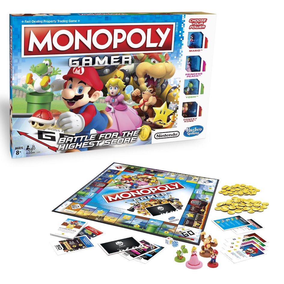 Hasbro And Nintendo Introduce Monopoly Gamer Featuring Super