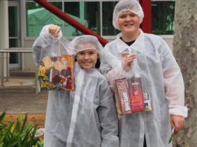 Arnott's Factory Tour with Kids