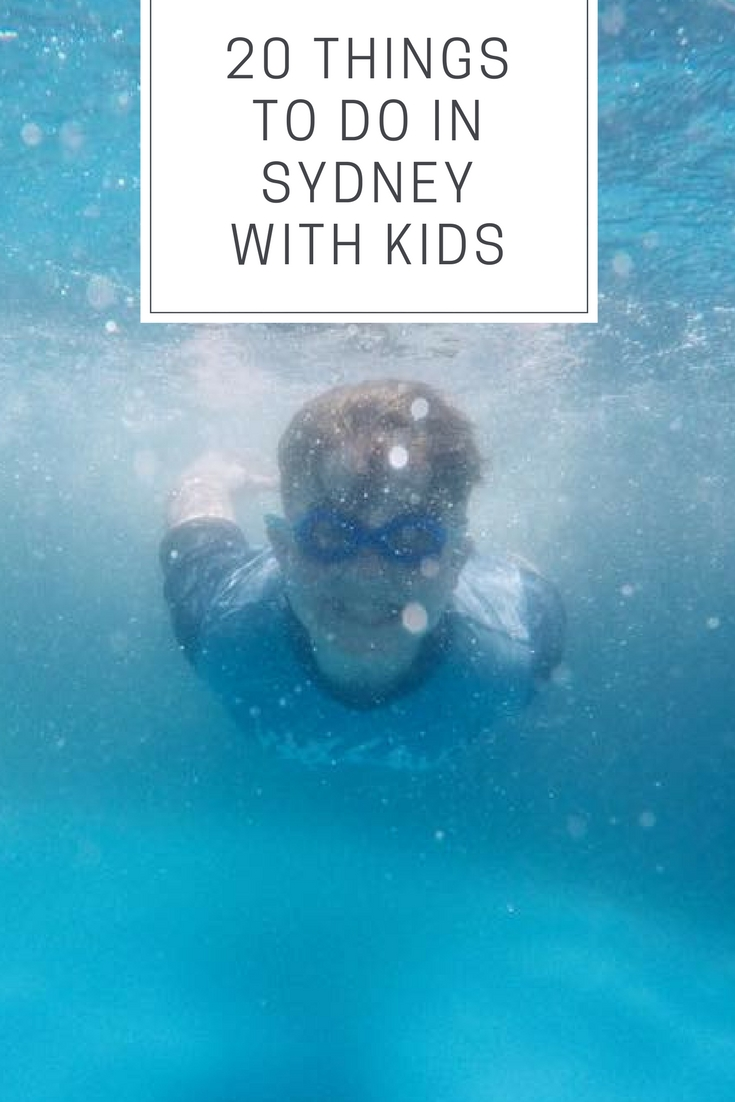 20 Things to do in Sydney with Kids