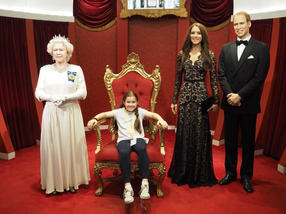 Madame Tussauds Sydney with Kids