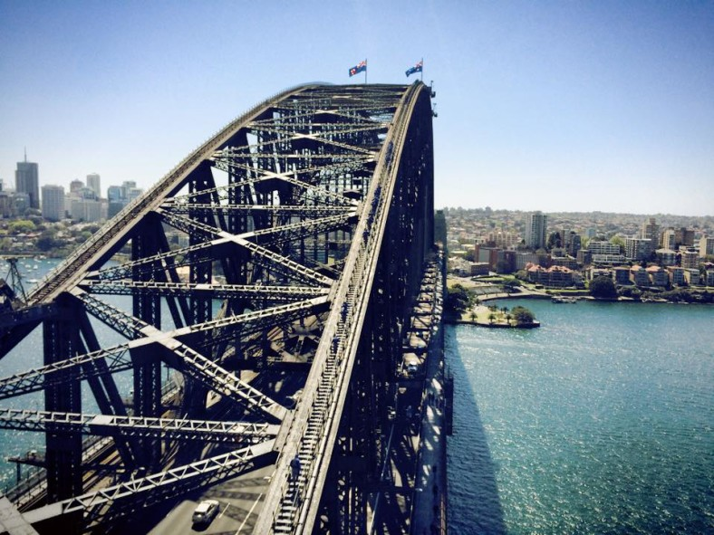 Things to do in Sydney with Kids Harbour bridge